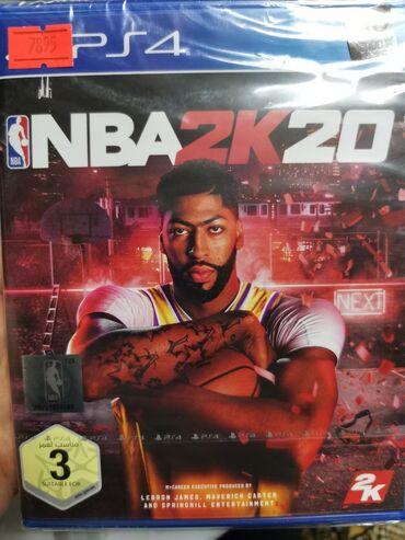 ps4 oyunlari - Azərbaycan: NBA 2k20. PlayStation 4 Oyunlarının Və Aksesuarlarının zəmanətlə