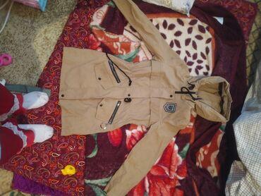 Мужская одежда - Кара-Балта: Куртка осенняя новая коричневом цвете. 42р. Заказала через интернет