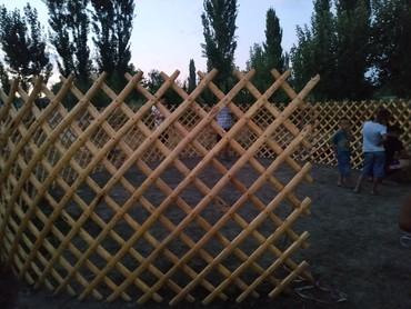 Другие услуги - Лебединовка: Кыргыз боз уй арендага берилет 85 баш 7 канат. Жасайбыз заказ