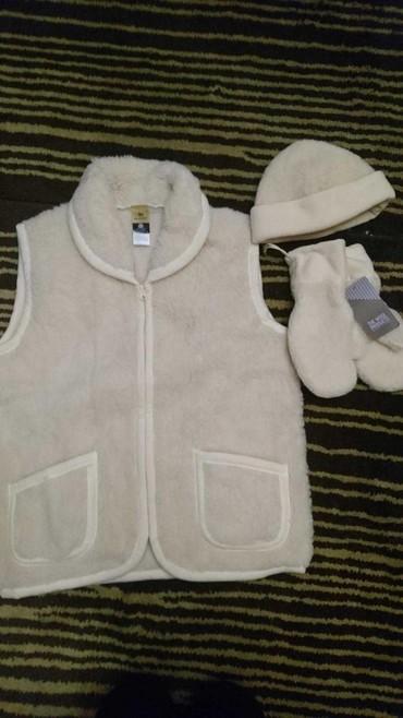 Новый комплект жилет, шапка и рукавицы. Размер л. 1600 в Бишкек