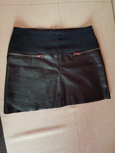 стильную джинсовую юбку в Кыргызстан: Продам стильную юбку S-M размера,одета один раз