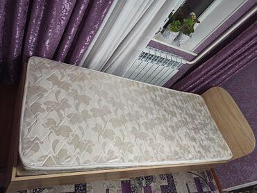 Кровать односпалка почти новая. Состояние отличное вместе с матрасом