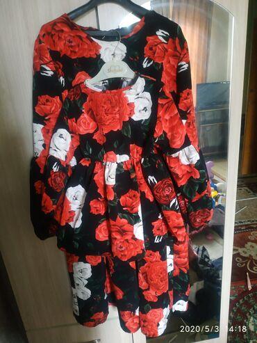 Платья в Ак-Джол: Продаю платье мама+дочка, размеры женского 42-46, детский 1-2 годик