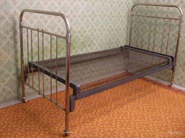 продаю 2 железные кровати в хорошем состоянии, цена договорная в Бишкек
