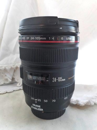 Bakı şəhərində Canon lensi 24-105 1:4 l is USM  tep tezedi islenmis deyil  qiymeti