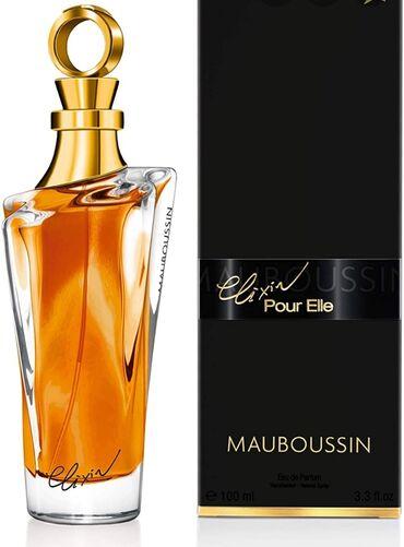 """MAUBOUSSIN """"Elixir pour elle"""" 100ml eau de parfum France /set 3 в 1"""