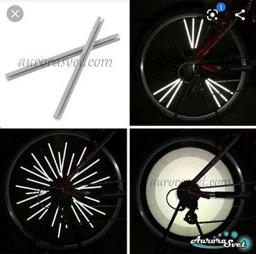 Otrajatel velosiped üçün 65 dənə