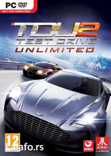 Test driver unlimited 2 - Boljevac