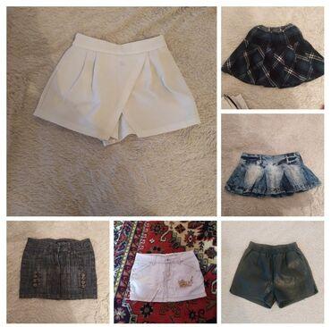 Шорты и юбки размер S-М. В отличном состоянии
