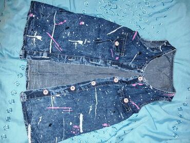 Красивый джинсы сарафан почти новый на 1.5-2 г можно и на 3 г отдам за
