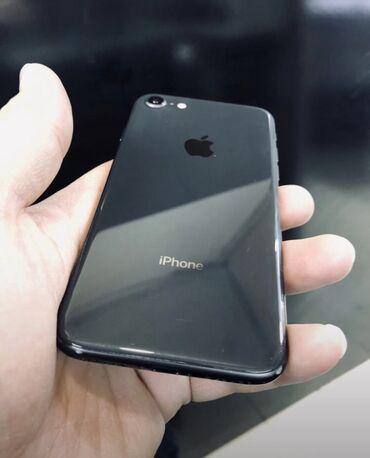 чехол iphone 8 в Азербайджан: Б/У iPhone 8 64 ГБ Черный