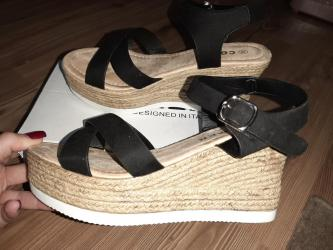 Nove sandale na platformu visine 8cm, broj 39. Duzina unutrasnjeg - Belgrade