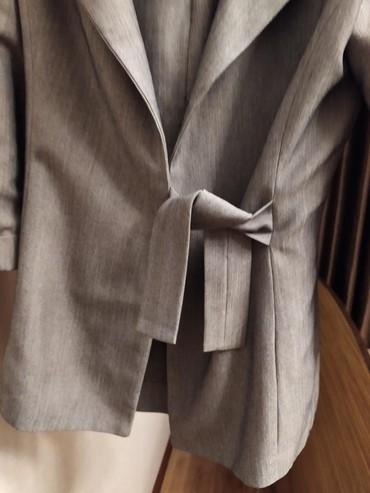 Офисный костюм на 44-46р. Инд.заказ. Сидит очень красиво, мягкая
