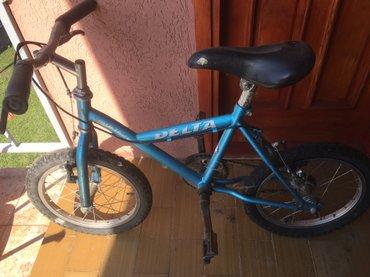 Deltina bicikla 16 tum plava, u ok stanju - Batocina