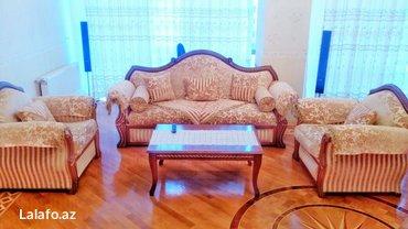 Bakı şəhərində Bakida gundelik kiraye evler. Baki seherinin merkezinde  3 otaqli