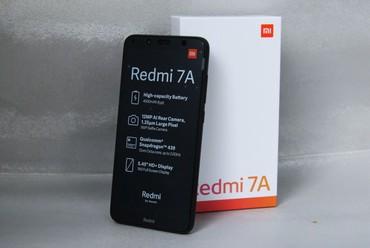 Новый Xiaomi Redmi 7A 32 ГБ Черный в Душанбе