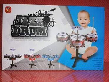 Bubnjevi za decu1.060 rsdBubanj – muzički instrument za decu– 3