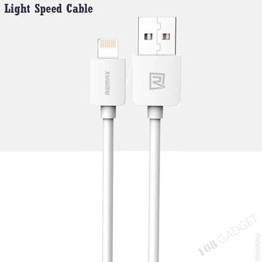 Кабель remax safe charge speed data cable lightning to usb в Бишкек
