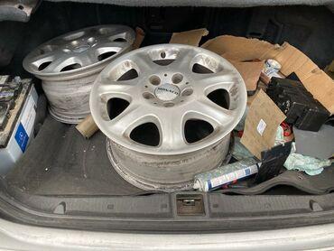 шины и диски в Кыргызстан: Срочно продаю диски с летними шинами r16, состояние отличное