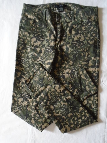 Farmerki pantalone - Srbija: Nove atraktivne farmerke Ellos sa neobičnim printom. Srednje su dubine