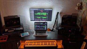 Студия звукозаписи Q-rush Studio.Профессиональная студия в центре