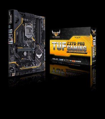 Продаю материнскую плату !!! Tuf z370 Pro Gaming . Цена 11 к реальному