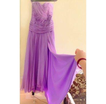 Bakı şəhərində Платье одевалось один раз, размер 38/40, сшитое на заказ