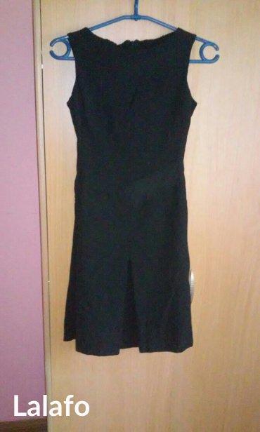 Prelepa mala crna haljina pogodna za sve prilike,italijanska,velicina  - Vrnjacka Banja