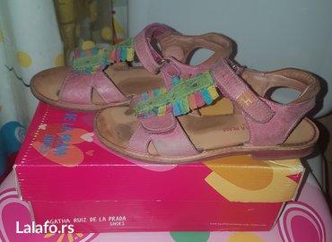 Majica la costa - Srbija: Kozne sandale za devojcice garvalin - Agatha Ruiz de la Prada broj 29