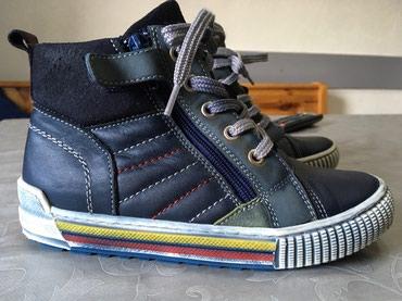 Duboke jesen/zima br.30  Savršeno očuvane, kožne cipele za dečake - Krusevac
