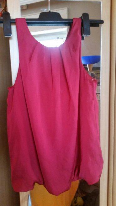 Nova svecana svilena bluza bez rukava,treba uraditi cibzar! - Subotica