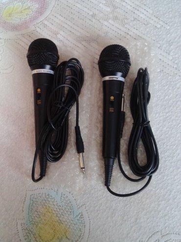 Bakı şəhərində MIkrofonlar GEEPAS.2 ededdir,tezedir,ishlenilmeyib.Kabellerinin uzunlu