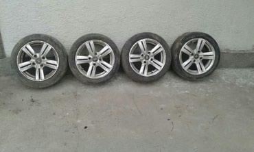 Продаю шины с титан дисками R 15 разболтовка 4×114,3  в Кара-Балта