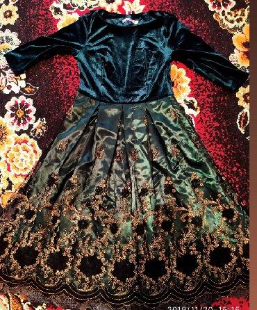длинные вечерние платья из бархата в Кыргызстан: Вечерние платья бархат очень красивая . Одела всего один раз на