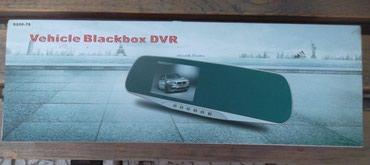авто видео регистратор в Кыргызстан: Видео регистратор-зеркало модель S500-75. Новое.Пленка