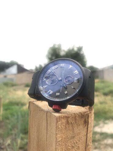Черные Мужские Наручные часы Ulysse Nardin