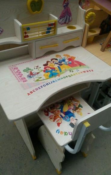 Детский мир в Тауз: Uşaq stol stul desti,oğlan üçün de var,en aşaği qiymetle baki anbardan