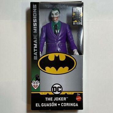 Batman - Srbija: Joker - DC Comics 80 Years Batman Missions Visina 14 cm Novo i