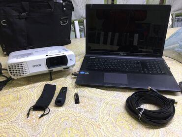 Аренда \ прокат 1) проектор epson eh-tw650 2) ноутбукfull hd 1080p