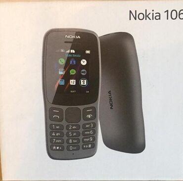 nokia-duos в Азербайджан: Nokia 106 duos Teze karopkada qeydiyyatli orginal nokia
