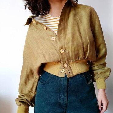 Ženske jakne - Beograd: Vintage jaknica, velicina odgovara S/M