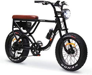 Fat tire bike 500w high power motor ebike with rear motor