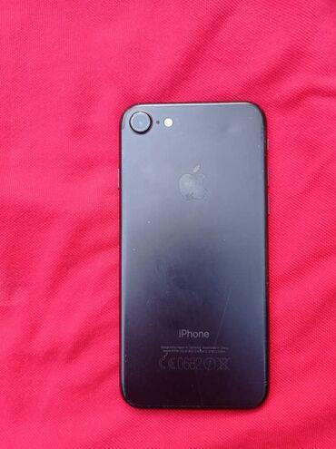 Мобильные телефоны - Базар-Коргон: Б/У iPhone 7 32 ГБ Черный