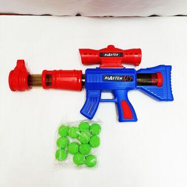 детские игрушки 3 в Кыргызстан: Детское воздушное ружье - замечательный безопасный автомат с прицелом