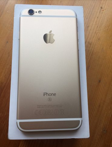 Продаю iPhone 6s 16 gb gold, полный комплект, в Бишкек