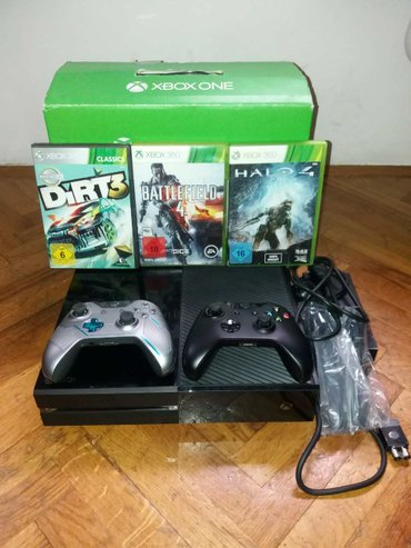 * XBOX One Fat sa 500GB HDD-om - Becej