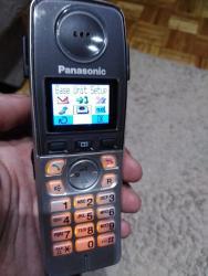 Kucni-aparati - Srbija: Panasonic bezicni fiksni telefon sa color displejom i