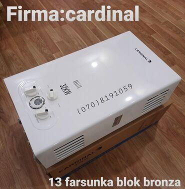 ağ sandallar - Azərbaycan: Su qizdirici pitiminutka Firma:cardinal 32. Blok bromza borular
