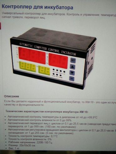 Контролёр для инкубатора в Бишкек