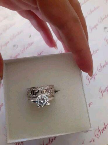 Nakit   Nis: Versace prsten Cisto srebro 925
